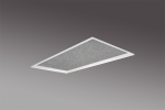 Lift recessed 2x2 sound absorption