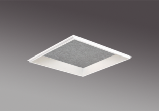 Lift recessed 1x1 sound absorption