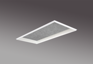Lift recessed 1x2 Sound absorption