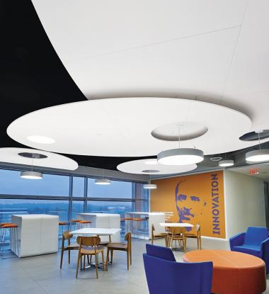 "FINA 14"", 18"", 24"" Recessed and Suspended Open Office"